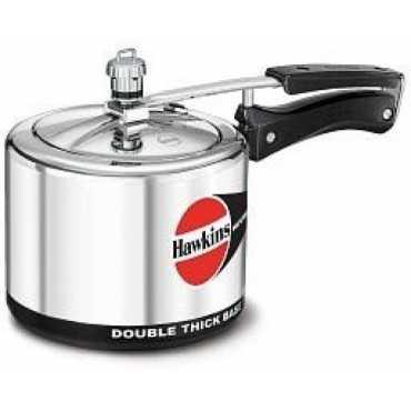 Hawkins H30 Aluminium  3 L Pressure Cooker(Inner Lid)