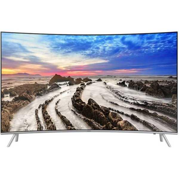 Samsung 55MU7500 55 Inch Ultra HD 4K Curved LED Smart TV - Silver