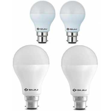 Bajaj 5W And 15W LED Bulb (White, Pack of 4) - White