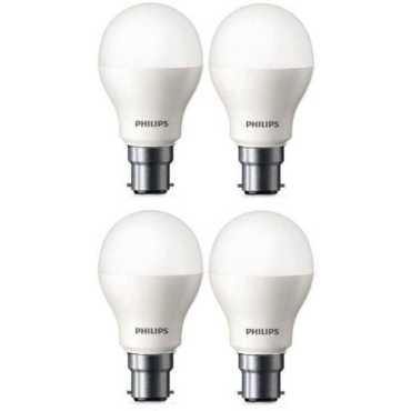 Philips 9W Standard B22 825L LED Bulb White Pack of 4