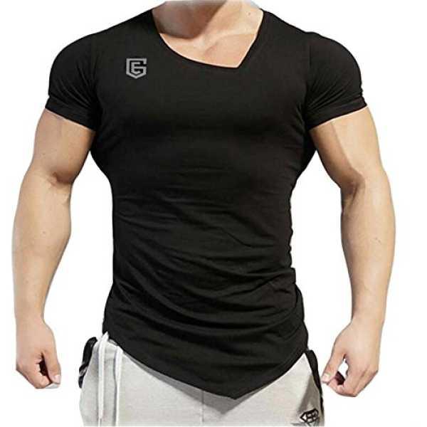 e Eg Store Men's Cotton T-shirt(EGGYMBLACK_Black_X-Large)