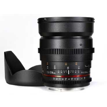 Samyang SYCV24M-NEX 24mm T1.5 Cine Wide Angle Lens (For Sony Nex) - Black
