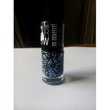 Maybelline Color Show Go Graffiti (Blue Beats 807) - Blue