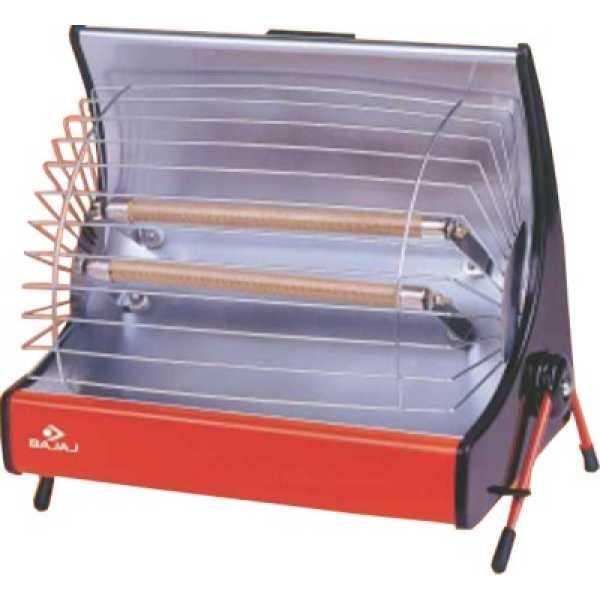 Bajaj Deluxe 2000W Radiant Room Heater - Multicolour