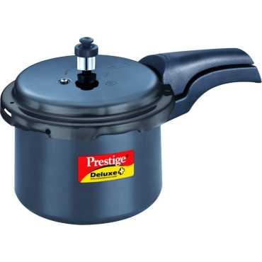 Prestige HA Deluxe Plus Aluminium 3 L Pressure Cooker Induction Bottom Outer Lid