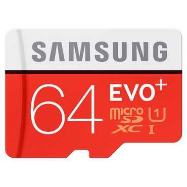 Samsung Evo Plus 64GB MicroSDXC Class 10 (80MB/s) Memory Card