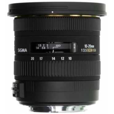 Sigma 10-20mm F/3.5 DC Lens (for Canon DSLR) - Black