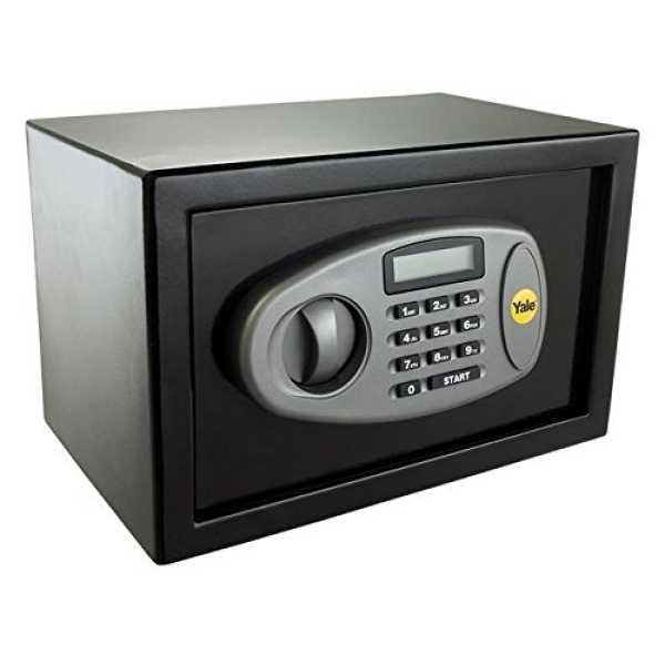 Yale Y-MS0000NFP Medium Safety Locker - Black