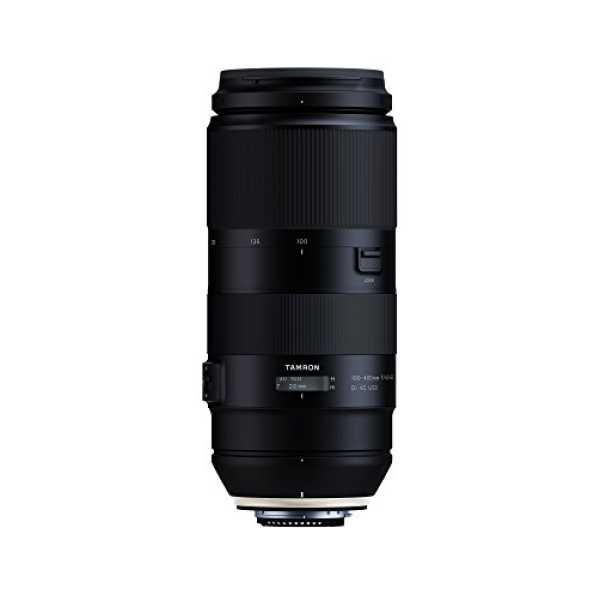 Tamron 100-400mm F/4.5-6.3 Di VC USD (For Nikon DSLR) - Black