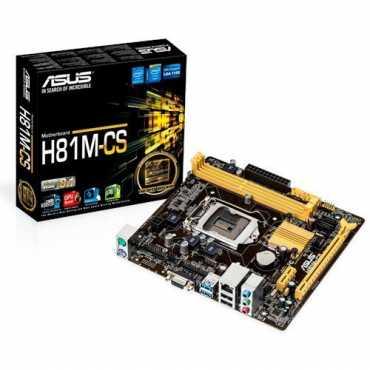 Asus H81M-CS Motherboard - Black