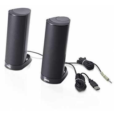 Dell - AX210CR USB Stereo Speaker - Black