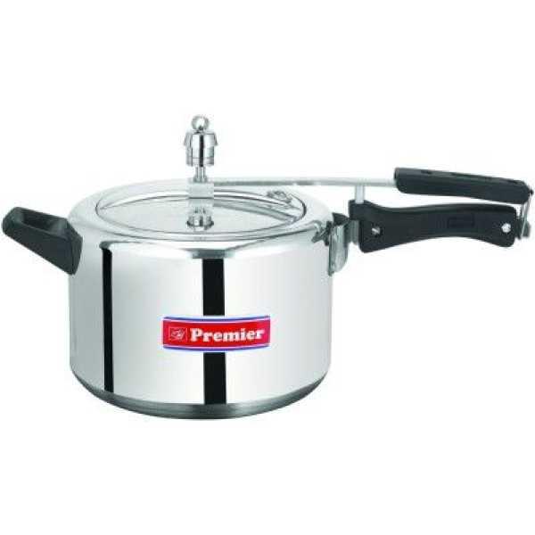 Premier Aluminium 3 L Pressure Cooker (Inner Lid)