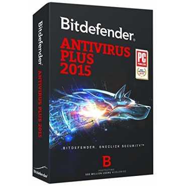 Bitdefender Antivirus Plus 2015 1 PC 1 Year Antivirus (Key)