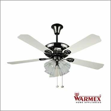 Warmex Argent 4 Blade (600mm) Ceiling Fan - Black