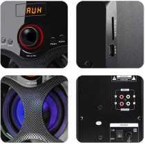 Zebronics BT3440RUCF 2 1 Multimedia Speaker System