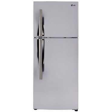 LG GL-I322RPZY 308L 3S Inverter Double-Door Refrigerator (Shiny Steel) - Steel