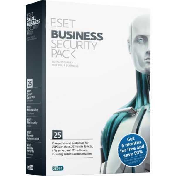 Eset Business Edition 25 PC 1 Year Antivirus
