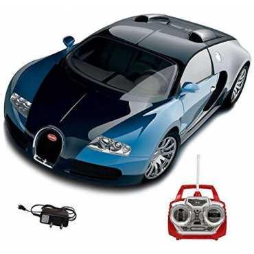 Saffire Remote Control Rechargeable Bugatti Veyron Car (Blue)
