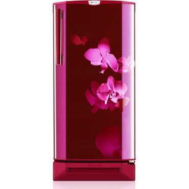 Godrej RD Edge Pro 190 PDS 3.2 190L Single Door Refrigerator (Orchid Wine) - Red