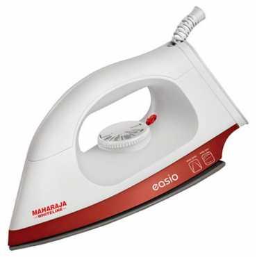 Maharaja Whiteline Easio DI-105 1000W Dry Iron - White | White & Red