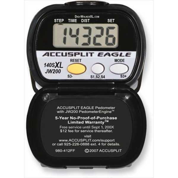 Accusplit AE140SXL-BX Eagle Pedometer Step Counter