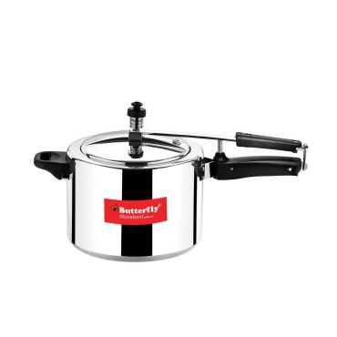 Butterfly Standard Plus 5 L Pressure Cooker (Inner Lid)