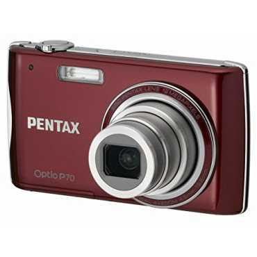 Pentax OptioP-70 Digital Camera - Red