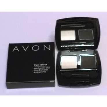 Avon True Colour Eye Shadow Duo (Black Star) - Black