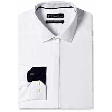 Elitus Men s Formal Shirt 8907542333523_270159636_40_White