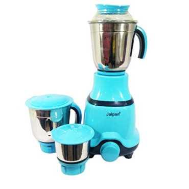 Jaipan Fancy Triset 550W Mixer Grinder - Blue | Aqua