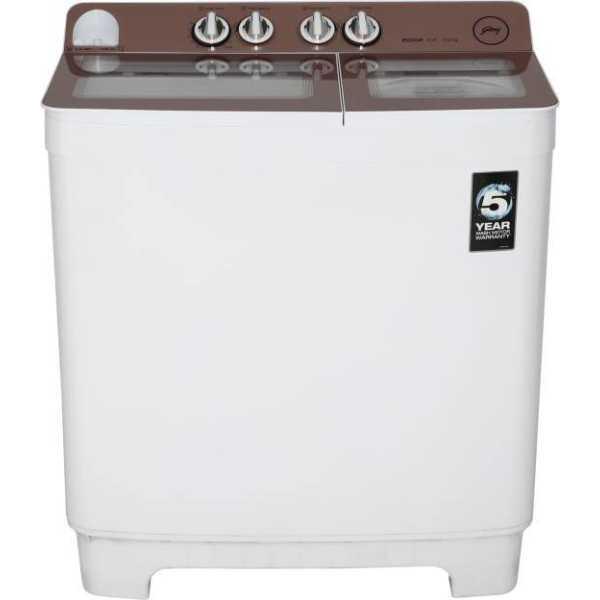 Godrej 10.2 Kg Semi Automatic Top Load Washing Machine (WS EDGE NX 1020 CPBR)