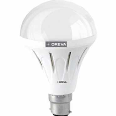 Oreva Premium 12W B22 935L LED Bulb (White,Pack of 5) - White