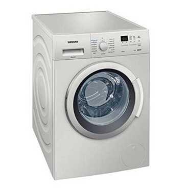 Siemens WM12K168IN 7 Kg Fully Automatic Washing Machine - Silver