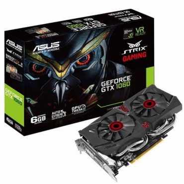 Asus Strix Geforce GTX 1060(STRIX-GTX1060-DC26G) 6GB DDR5 Graphic Card