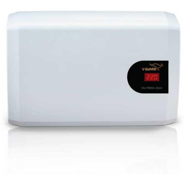 V-Guard ID4 Prima 2040 160V-280V Voltage Stabilizer