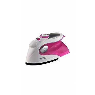 Usha Travel 500 1000W Steam Iron - Pink