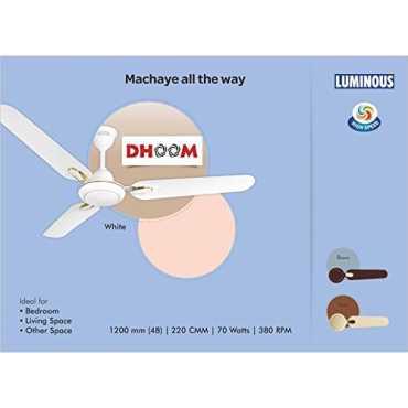 Luminous Dhoom 3 Blade 1200mm Ceiling Fan