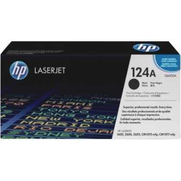 HP 124A Q6000A Black LaserJet Toner Catridge