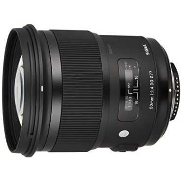 Sigma 50mm F1.4 DG HSM I A (For Canon,Nikon,Sony) - Black