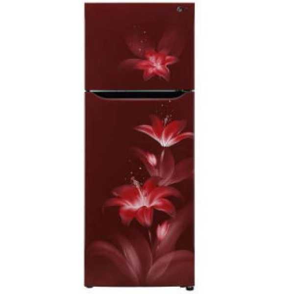 LG GL-T302SRGY 284 L 2 Star Inverter Frost Free Double Door Refrigerator