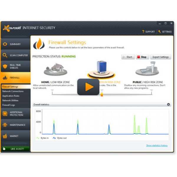 Avast Internet Security 2013 1 PC 3 Year Antivirus