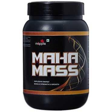 GRF Ayurveda Maha Mass Whey Protein Supplement (300 gm, Vanilla)