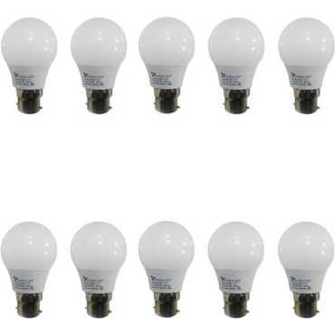 Syska 3W LED Bulbs (White, Pack of 10) - White