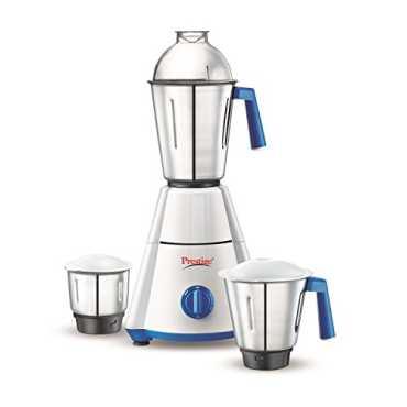 Prestige Nakshatra 550W Mixer Grinder (3 Jars) - White | Blue