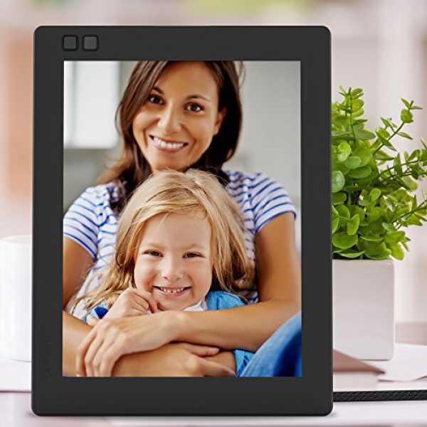Nixplay Seed W08D 8-inch WiFi Digital Photo Frame - Blue | Black