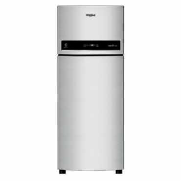 Whirlpool IF 480 ELITE 3S 465L Double Door Refrigerator (Caviar Black) - Black