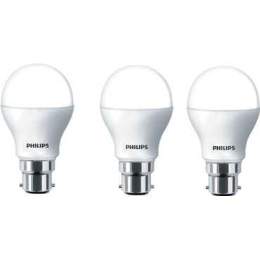 Philips 7 W LED Bulb B22 White (pack of 3)