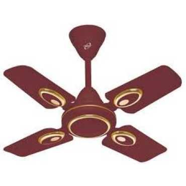 Orpat Air Fusion 4 Blade Ceiling Fan - Brown | White