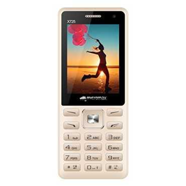 Micromax X725 Dual SIM - Beige | Gold