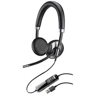 Plantronics Blackwire 725 Corded USB Headset - Black | Silver